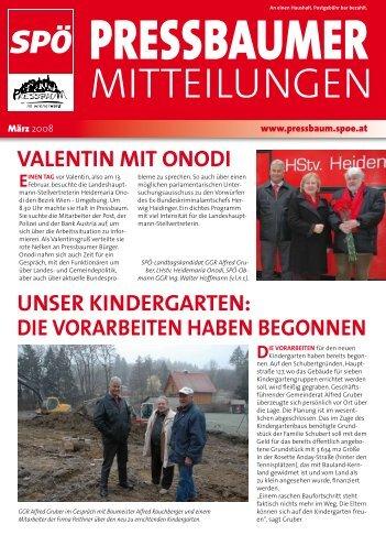 Zeitung-03-2008 - WordPress – www.wordpress.com