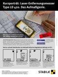 Aktuelle Handwerkerinfo 2013 - Stabila - Seite 6