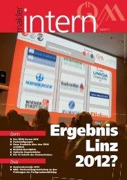 övm forum 2012 - Österreichischer Versicherungsmaklerring