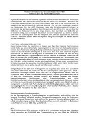 Weitere Informationen zur Grundstücksdatenbank NEU DI ...