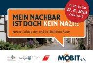 eV Mein nachbar ist doch kein nazi!? - mobit.org