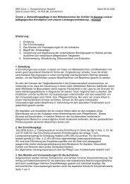 Grund- u. Behandlungspflege in den Wohnbereichen ... - DRK-Schul