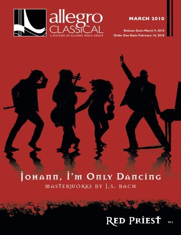 Johann, I'm Only Dancing - Allegro Music