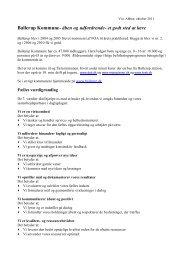 Ballerup Kommune- åben og udfordrende- et godt sted at lære