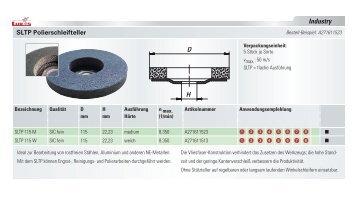 Industry SLTP Polierschleifteller - LUKAS-ERZETT