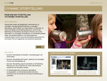 DYNAMIC STORYTELLING - TrendONE Blog