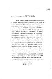 Memorandum on scientists suspected as war criminals