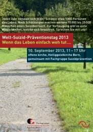 Welt-Suizid-Präventionstag 2013 Wenn das Leben ... - offene kirche