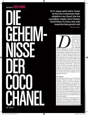 REPORT COCO CHANEL