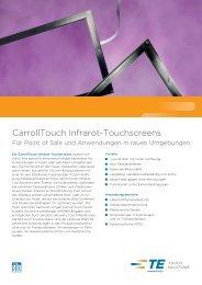 CarrollTouch Infrarot-Touchscreens