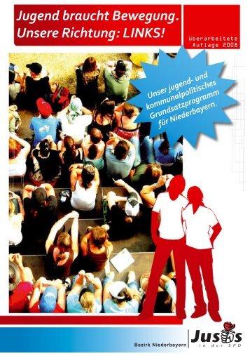 Jugend braucht Bewegung. Unsere Richtung: LINKS! - Hilfe und Info