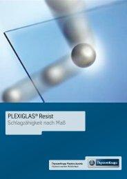 PLEXIGLAS® Resist - ThyssenKrupp Plastics Austria