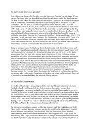 Die Satire in die Schranken gefordert (pdf) - AdS