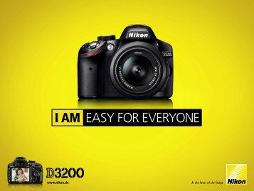 D3200 Prospekt - Nikon Highlights
