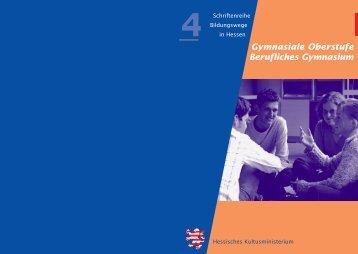 Gymnasiale Oberstufe Berufliches Gymnasium - GesaHu