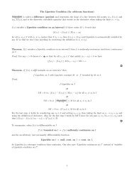 The Lipschitz Condition (for arbitrary functions) is called a difference ...