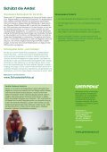 Factsheet: Arktis in Gefahr - Greenpeace - Seite 4