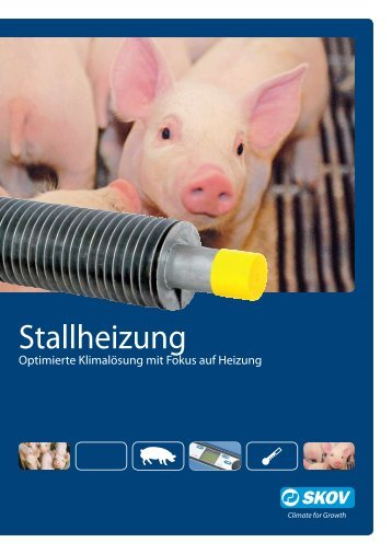 Stallheizung Schweine - Skov A/S