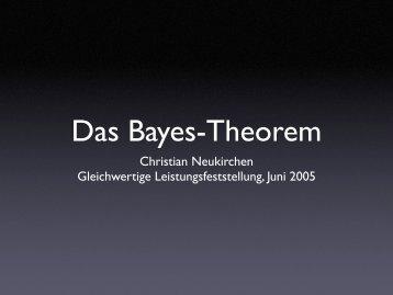 Christian Neukirchen Gleichwertige Leistungsfeststellung, Juni 2005