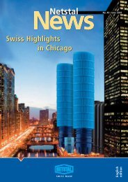 Swiss Highlights in Chicago Swiss Highlights in Chicago - Netstal