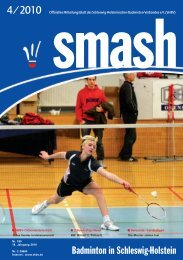 smash badminton - SHBV