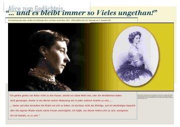 """Page 1 -&'+) !% ,)* +(""""$'# Eine Ausstellung ber Leben und Werk der ..."""