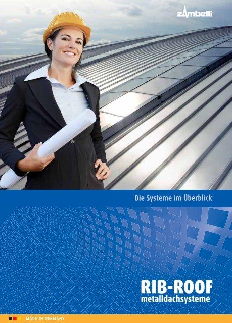 die systeme im überblick rib-roof 465 - Zambelli Gruppe