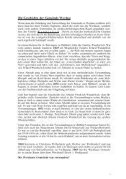 Die Geschichte der Gemeinde Werdau