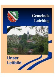 Download Leitbild - Loiching