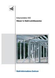 Leichtbauweise - Stahl-Informations-Zentrum