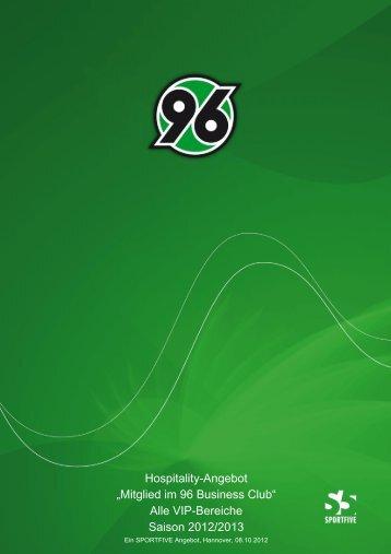 VIP-Bereiche Saison 2012/2013 - Hannover 96