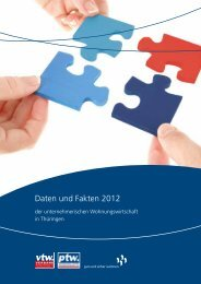 Daten und Fakten 2012 - Verband Thüringer Wohnungswirtschaft e.V.