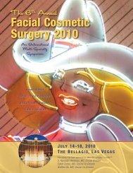 Annual Facial Cosmetic Surgery 2010 - Pumc.com