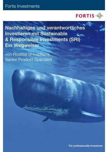 Nachhaltiges und verantwortliches Investieren mit ... - telosia