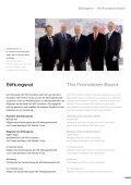 Jahresbericht · Annual Report 2011 - HILTI Foundation - Seite 7