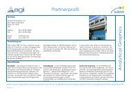 Partnerprofil A n a ly tic a l G ra p h ic s - Tukom GmbH