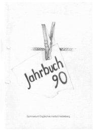 1990 - Freundeskreis Englisches Institut, Heidelberg