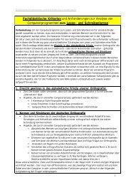 Fachdidaktische Kriterien und Anforderungen zur Analyse von ...