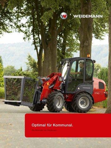 Optimal für Kommunen - Weidemann GmbH