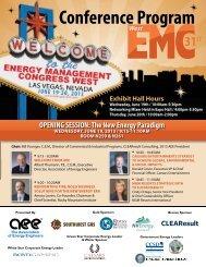 Conference Program - AEE Programs!