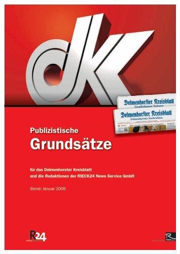 Publizistische Grundsätze - Delmenhorster Kreisblatt