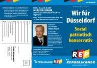 Wir für Düsseldorf - DIE REPUBLIKANER Kreisverband Düsseldorf