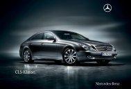 Prospekt des Mercedes-Benz CLS Coupe´s (C219) aus 07.09.