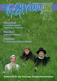 Theatrium, Ausgabe 3 - September 2005 - TAT-Online:::Reloaded