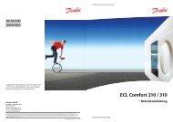 ECL Comfort 210/310 User Guide