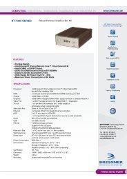 BT-7300 SERIES - BRESSNER Technology Gmbh