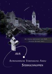 Sternschuppen-Ausgabe Oktober 2011 - Astronomische ...