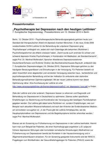 Prof. Dr. Manfred Wolfersdorf - Stiftung Deutsche Depressionshilfe