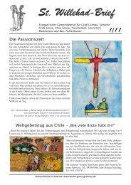 Brief Ausgabe 1/11 - Ev.-Luth. Kirchengemeinde St.Willehad