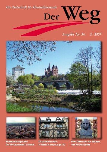 Ausgabe Nr. 56 3 - 2007